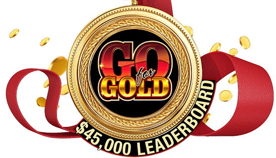 $45,000 Go for Gold Leaderboard